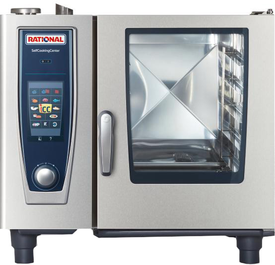 ПАРОКОНВЕКТОМАТ RATIONAL SELFCOOKINGCENTER® 61 С ТЕРМОКЕРНОМ SOUS-VIDE B618100.01.280